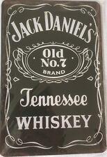 RETRO Jack Daniels Blechschild Tennessee Whiskey 20x30 Werkstatt  Bistro