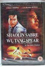 Shaolin sabre vs wu tang spear ntsc import dvd