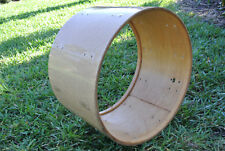 "1970's LUDWIG CLASSIC 22"" CHAMPAGNE SPARKLE BASS DRUM SHELL for YOUR SET! #A793"