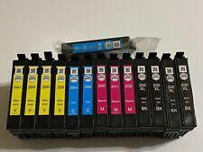NEW LOT OF 14 EPSON DURA BRITE ULTRA INK 200 PRINTER CARTRIDGES BK M Y C