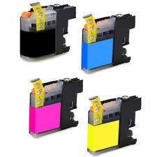 4 Tintas Compatibles Para Brother LC125XL LC127XL Chip