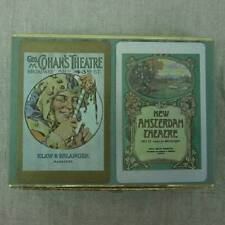 VTG Congress Playing Cards Cohan's Amsterdam Theatre Boxed Double Deck