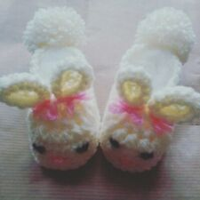 Baby boys girls cotton CALCIO Padders stivaletti Indoor Scarpe Pantofole Taglia Calze