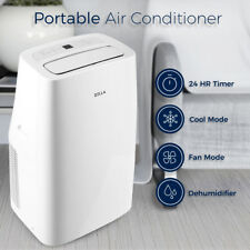 Quiet 10,000 BTU Portable Air Conditioner Cold A/C Cooling Fan w/ Remote Control