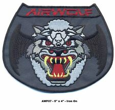 "5"" AIRWOLF HELICOPTER PILOT SUBDUED SCREEN VERSION PATCH - AWF07"