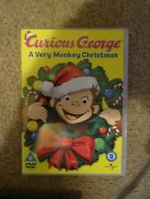Curious George A very monkey Christmas DVD