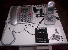 SENIORENTELEFON SEHR LAUT 2 TELEFONE BIG TEL 480 AUDIOLINE NEUWERTIG