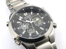 Gents Citizen Eco-Drive U200 Ana / Digi Multifunction Watch - 100m