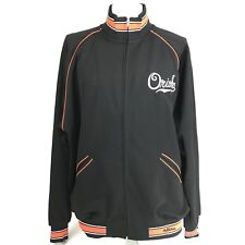 Stall & Dean Mens German Orioles Track Jacket Throwback Basketball 3XL