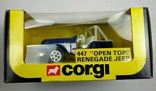 "NEW Vintage Corgi 447 ""OPEN TOP"" 4 X 4 RENEGADE JEEP  1:43 Scale"