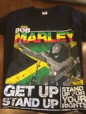 T Shirt | Bob Marley maglietta get up stand upfor your rights taglia m