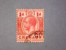Grenada. KGV 1913 1d Red. SG91. Wmk Mult Crown CA. P14. Used.