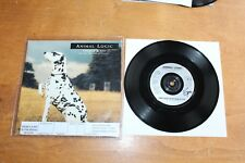 Animal Logic Stewart Copeland Police ‎- UK AL10 / There's a spy + promo sticker