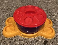 PLAY DOH Cookie Monsters Letter Lunch Replacement Part Bowl Tray Lid Mold Only