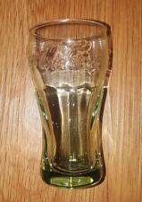 "Coca Cola Mini Cup Shot Glass Coke Green 2.5 oz 3 1/2"" Tall h4"