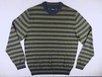 J394 BODEN pure wool striped jumper sweater size L, looks unworn!