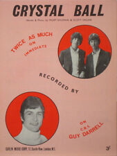 Twice As Much – Crystal Ball 1967 Sheet Music