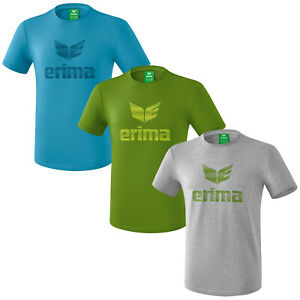 erima Essential T-Shirt kurzarm Herren/Kinder Shirt Sportshirt Freizeit Fitness