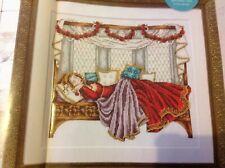 (D) Sleeping Beauty Fantasy Fairytale Princess Cross Stitch Chart