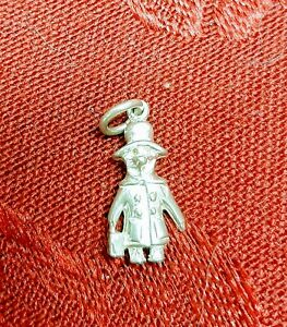 Sterling Silver Paddington Bear Vintage Charm