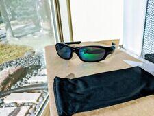 Oakley Straight Jacket Sunglasses 26-262 Jade Iridium Polarized Sunglass Read Me