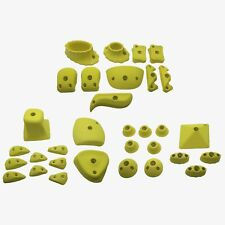 Climbing Holds Deluxe Set, 32 Piece Bolt on Rock Climbing Holds