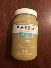 Waverly Inspirations Chalk Acrylic Paint CURRY 8 oz