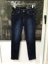 GAP 1969 AUTHENTIC STRAIGHT HI JEANS stretch SPR16 SIZE 26s