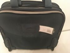 Samsonite Luggage Silhouette 8 Canvas Carry On with Handle Extend & Wheels -Blue