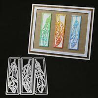Leaves Metal Cutting Dies Stencil Scrapbooking DIY Album Stamp Embossing