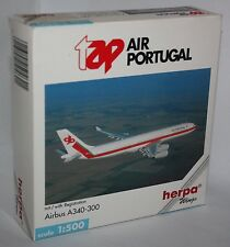 Herpa Wings-tap Air Portugal-Airbus A340-300-m/w Reg.-Scale 1:500-Modell #504621