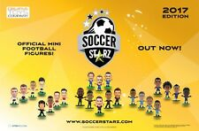 SoccerStarz Mini Soccer/Football Figurines Blister Pack Choose Your Player