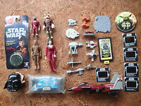 FIGURES STAR WARS MICRO MACHINES TRANSFORMERS NEW LOT TOYS TREK VINTAGE OLD 1977