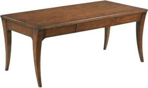 WOODBRIDGE DURANCE COCKTAIL TABLE 18TH C FRENCH RECTANGULAR TOP SABER LEGS L