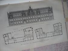 1884 Lübeck Post Telegraphengebäude