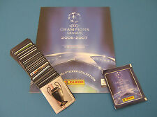PANINI CHAMPIONS LEAGUE 2006/07 SET COMPLETO + ALBUM VUOTO