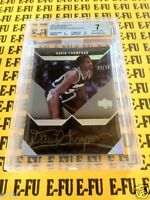 2007-08 UD Black DAVID THOMPSON BGS 7 NM Denver Nuggets AUTO 10 #d 37/50 Pop 1/1