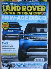 Land Rover Owner International November 2016 Discovery 5 3 Ninety Series III