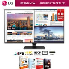 "LG 43UD79-B 43"" 4K Ultra HD IPS LED Monitor (3840x2160) + Extended Warranty Pack"