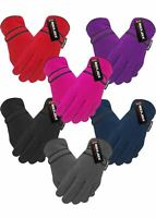 Rock Jock Kids Boys Girls Fleece R40 Fully Thermal Insulated Winter Gloves