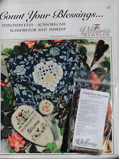 The Victoria Sampler - Count Your Blessings - Leaflet & Acc Pack #122 New