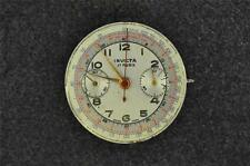 VINTAGE MEN'S SWISS INVICTA CHRONO POCKET WATCH MOVEMENT FOR PARTS