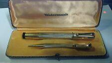 RARISSIMA WATERMANS 42 LAMINATA IN ORO 18K BOX RIGINALE ANNI 1920