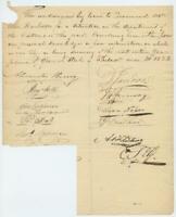 1823 Philadelphia Pennsylvania Document Customs Dept Appointment Richard Dale +4