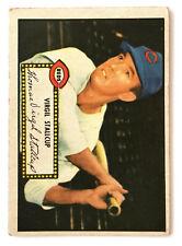 1952 Topps Baseball Card • Virgil Stallcup • #69