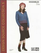 ENSEMBLES Manos del Uruguay Knitting Pattern Book for Women Design Source Coll 5