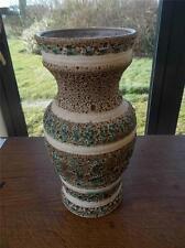 """Fat Lava West German Allemagne Occidentale rétro vintage vase 12"""" état neuf 1960 S"""