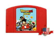 Dragonball Kart N64 Homebrew Hack Nintendo 64 Mario Kart with Dragon Ball Z USA