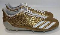 Adidas AdiZero 5 Star 6.0 Gold Football Cleats Men's Size 10 BW0778