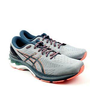 ASICS Mens Gel-Kayano 27 Sheet Rock/Magnetic Blue Running Shoes US 14 1011A767